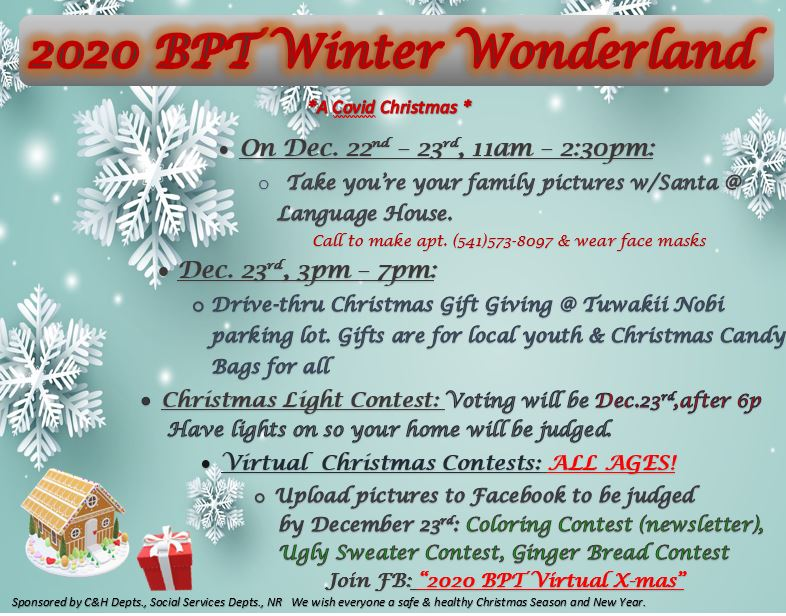 2020 BPT Winter Wonderland